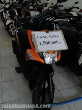 Harga Kredit, Uang Muka dan Angsuran Sepeda Motor Bekas di Surabaya