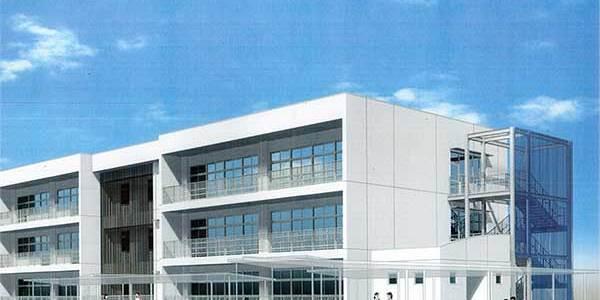 正岡小学校2棟校舎改築主体その他工事