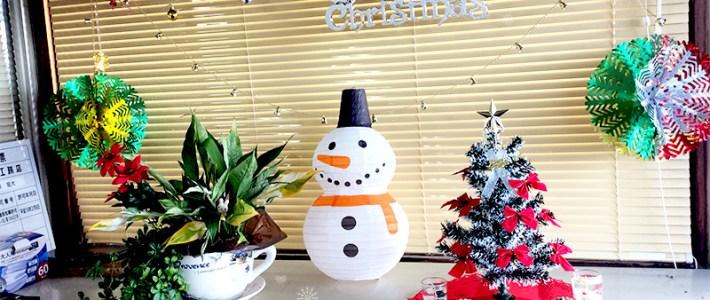 杉盛工務店もクリスマス♪