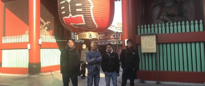 東京修学旅行