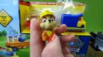 【犬猫動物動画まとめ】Paw Patrol Toys Adventure Bay Railway Train Track Set Rubble Rocky Chase Marshall Robo Dog Toys-