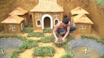 【犬猫動物動画まとめ】Build Swimming Pool Underground Fish Around Secret Underground Dog House