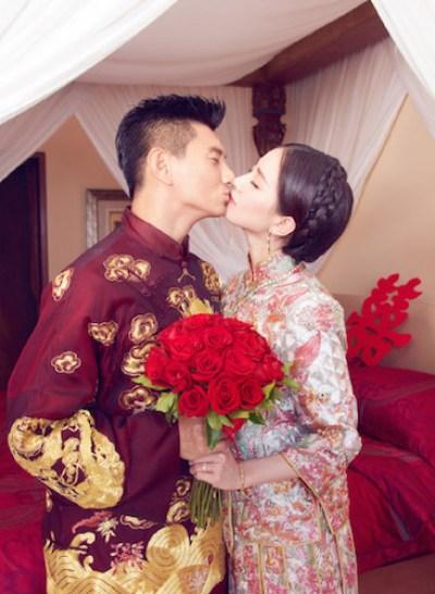 2ニッキー・ウー_リウ・シーシー婚礼1