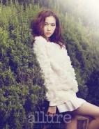 Kim Won Kyung Floral Allure Magazine April 2013 (5)