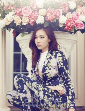 Kim Won Kyung Floral Allure Magazine April 2013