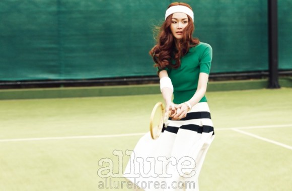 Lee Hye Jung Allure Magazine May 2013