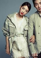 Park Shin Hye and Yoon Kye Sang - Sure Magazine May 2013 2