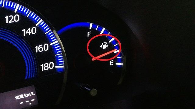 ガソリン給油口の方向