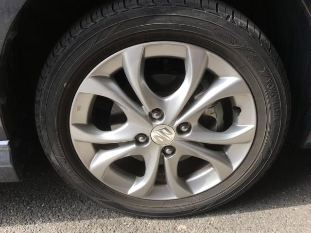 タイヤ交換前