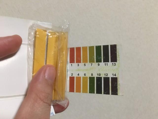 ph測定と酸性雨