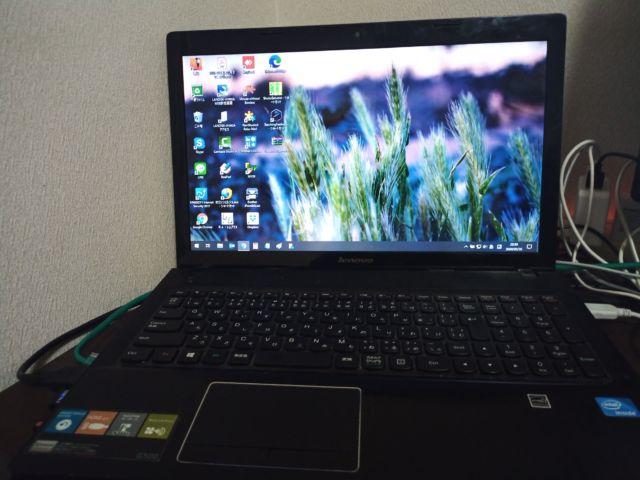 ノートPC G500