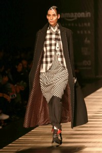 Rajesh Pratap Singh's latest collection at Fashion Week showcased some quirky designs and cuts