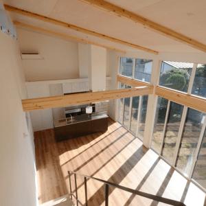 シンプルライフのコツ その4:家をぐるりと眺められるキッチンは、シンプルライフに最適