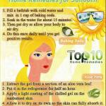 home remedies for sunburn daily inspirations for healthy livinghome remedy,sunburn