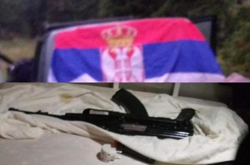 Serbët e armatosur sërish futen në Kosovë