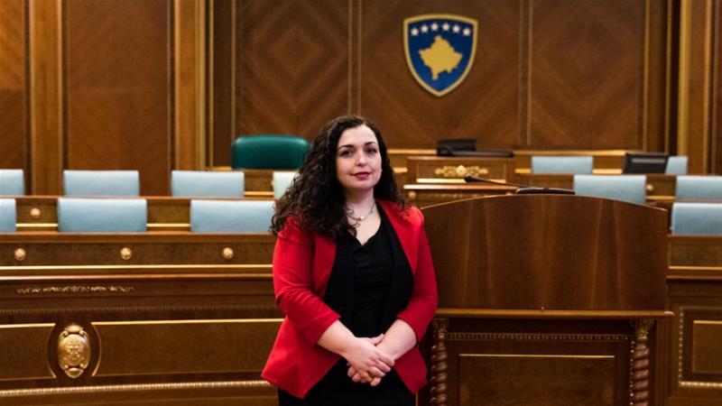 Vjosa Osmani komenton për herë të parë mocionin e Vetëvendosjes