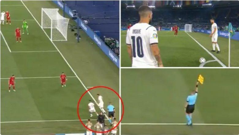 Pozita jashtë loje nga goditja e këndit që i habiti të gjithë në ndeshjen Turqi-Itali