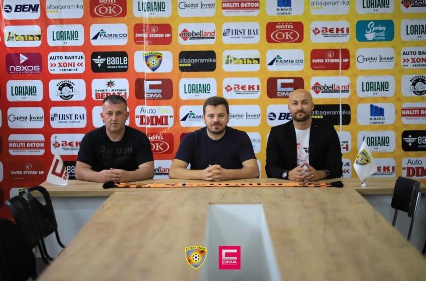 FC Ballkani emëron drejtorin e ri