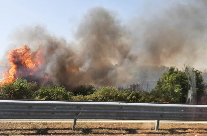 Nga zjarri në Suharekë rrezikohen shumë biznese, ndër to edhe një kompani me lëndë shpërthyese