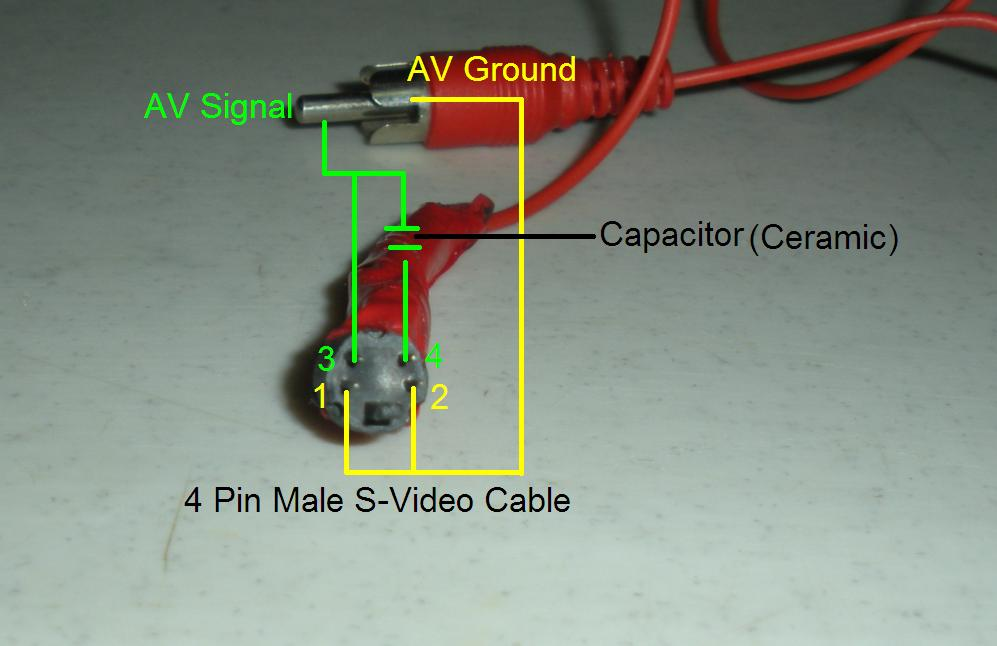 Do It Yourself S Video To RCA Composite Cable Adapter