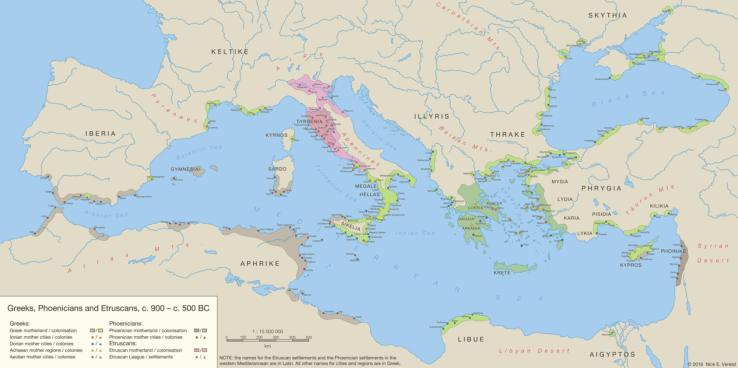 水中考古学 ギリシャ フェニキア エルトリア 1