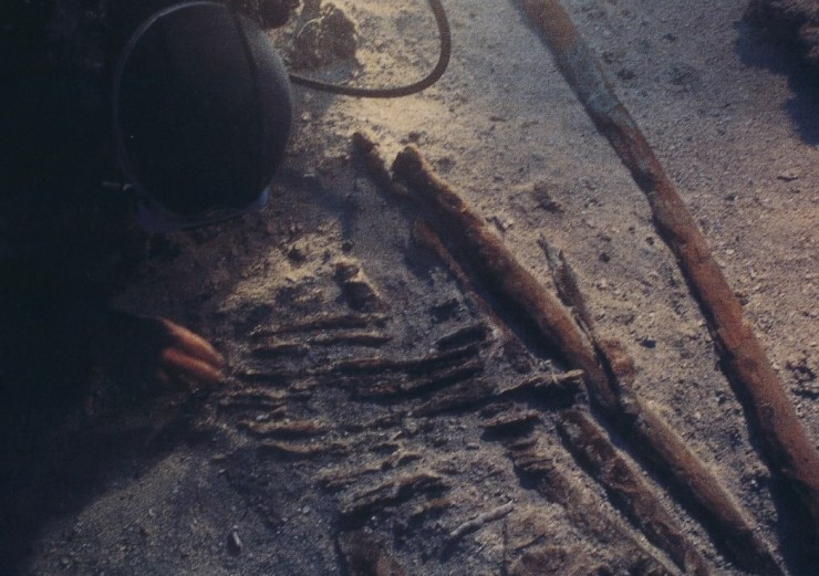 水中考古学 ウルブルン沈没船 地中海