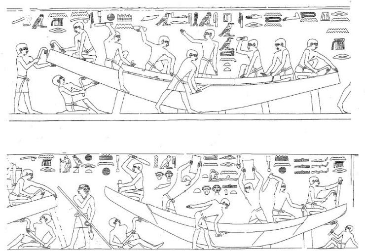 水中考古学 エジプト 墓