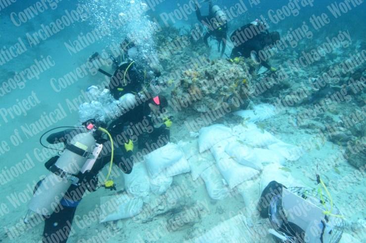 バハマ 水中考古学 5