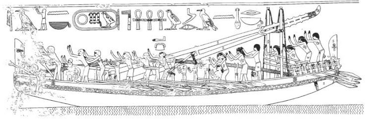 エジプト 水中考古学 海 船
