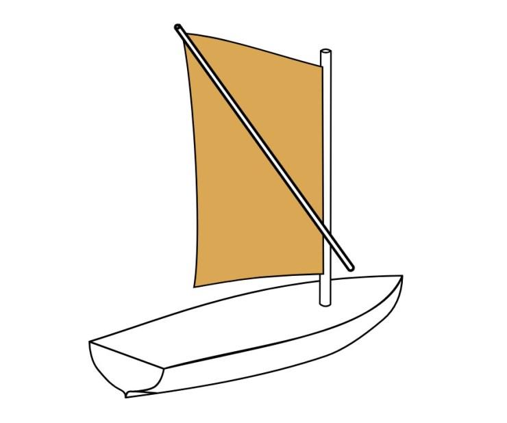 水中考古学 古代ローマ 帆