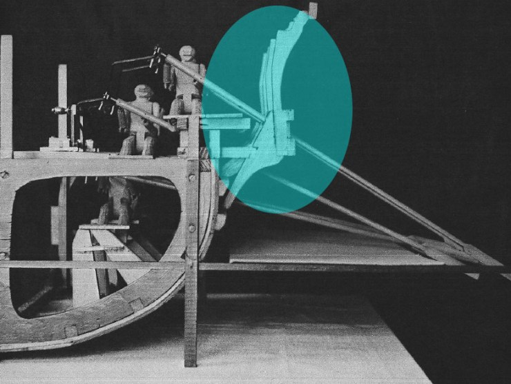 水中考古学 トライリム 三段櫂船 4