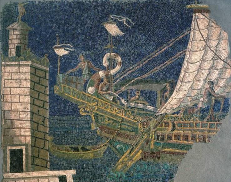水中考古学 ローマ帝国 船 6