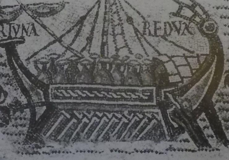 水中考古学 ローマ帝国 ガレー船