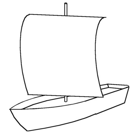 スクエアセイル 横帆