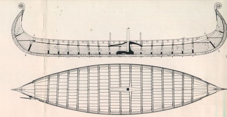 オセバーグ 船 5