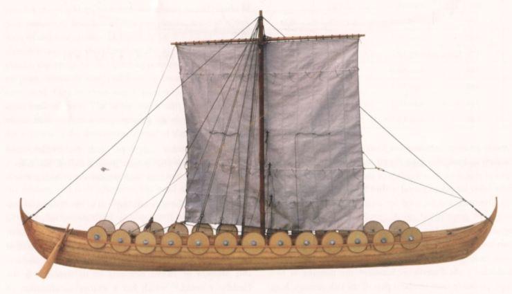 スクーダレヴ 沈没船