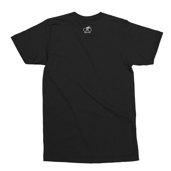 Unisex T-Shirt with Suicycle neck print