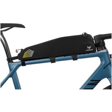 photo of bike frame with apidura pack