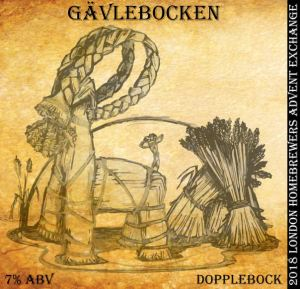 doppelbock label