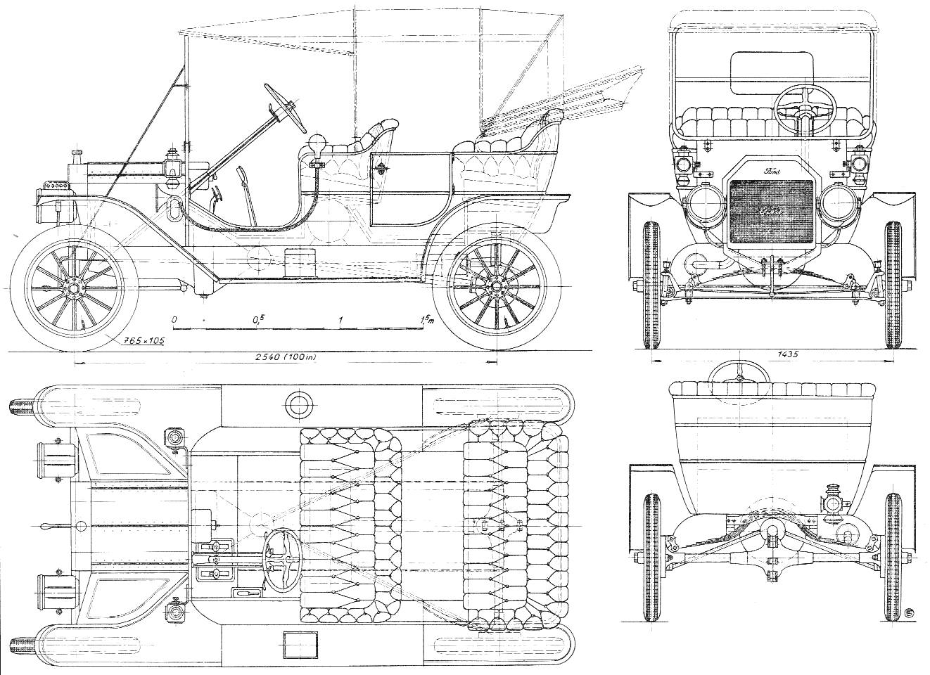 ford model t schematic image diy enthusiasts wiring diagrams u2022 1926 model t wiring diagram ford [ 1322 x 960 Pixel ]