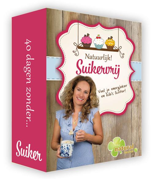 Natuurlijk Suikervrij cursus van Eva van Zeeland met Eva van Zeeland op de cover.