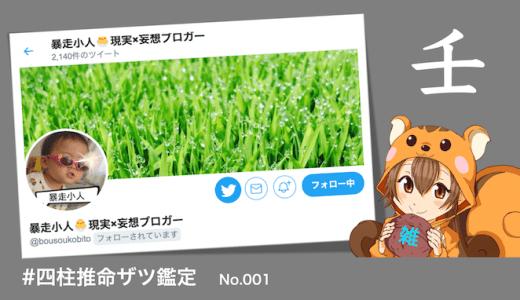 ザツ鑑定001:暴走小人さん🐣現実✕妄想ブロガー