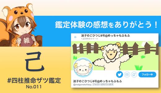 ザツ鑑定011|迷子のこひつじさん(感想)