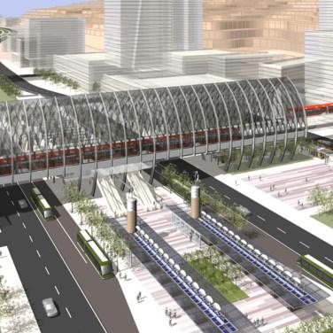 Station Area & Transit Boulevard