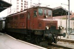 CH - CFF Historic Ae 3/6 I en tête d'un train d'exposition