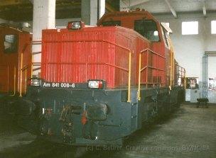 CH - CFF Am 841 au dépôt de Bienne