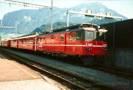 CH - LSE Deh 4/6 ex-CFF Brünig à Stansstad