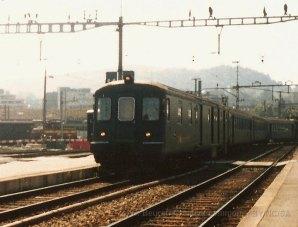 CH - CFF, DZt VU II à Luzern