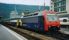 CH - CFF, rame du S-Bahn de Zürich à Bienne durant l'expo.02