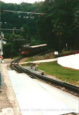 F - chemin de fer de la Rhune à la station inférieure